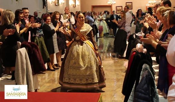 Marina Civera Moreno Fallera Mayor de Valencia 2019 en Masia Santarrita